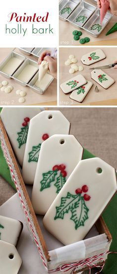 These edible gift tags are so sweet.