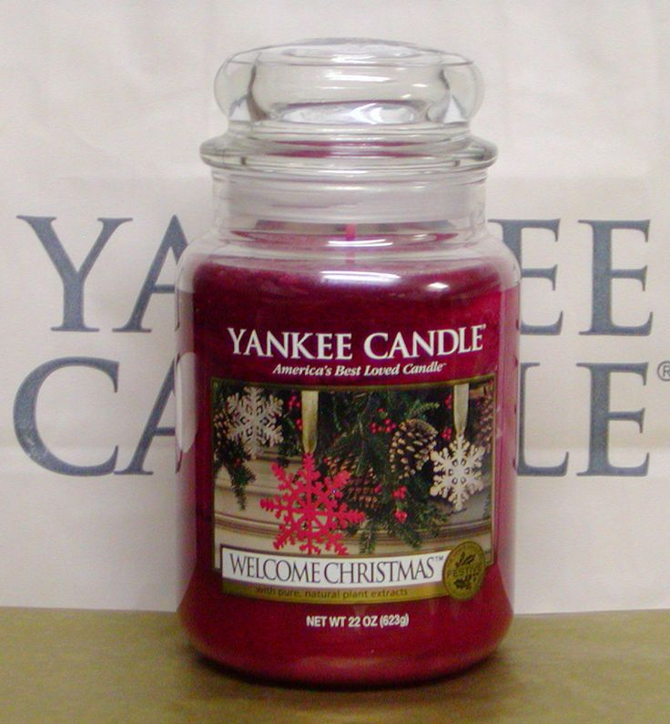 YANKEE CANDLE Welcome Christmas.#YankeeCandle #MyRelaxingRituals