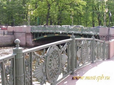 1-й Садовый мост  через реку Мойку в Санкт-Петербурге - Таисия Олеговна Кучина