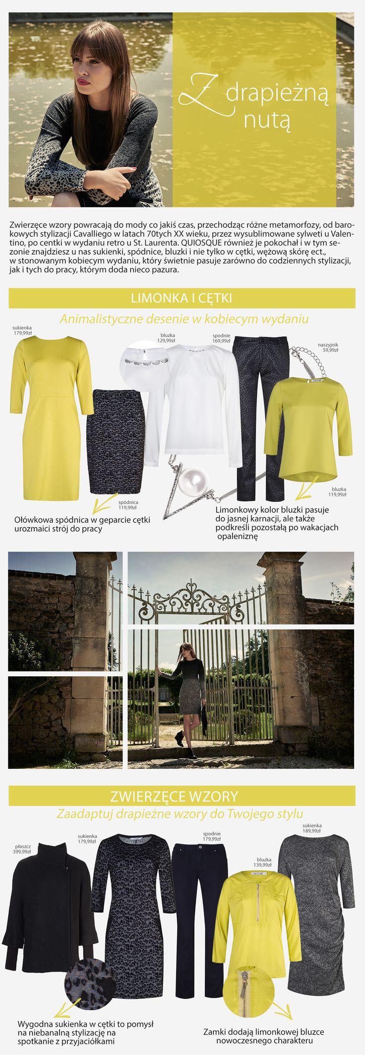 #quiosquepl #quiosque #naszeinspiracje #poniedzialek #monday #new #collection #lady #style #print #animalprint #details #colour #colourful #dress #bag #blouse #feminine #kobieco #nadruk #womanwear #trends #inspirations