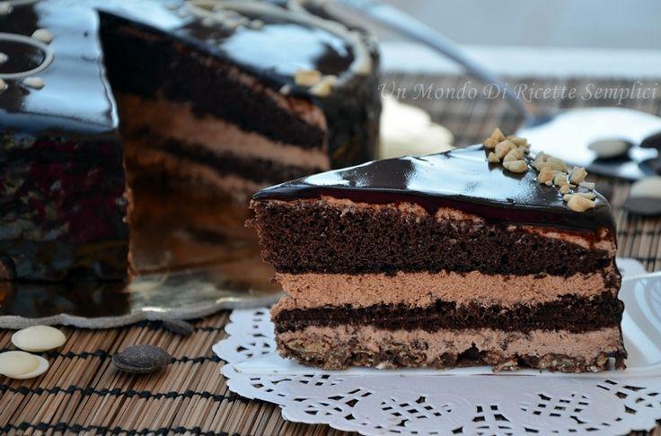 La torta sette veli è un dolce composto da 7 strati golosissimi, la preparazione è un po' lunga, ma il gusto di questo dolce ripaga di tutte le fatiche.