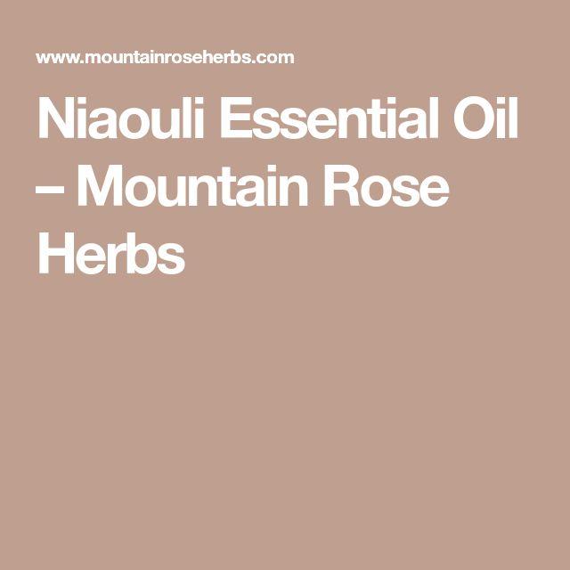 Niaouli Essential Oil – Mountain Rose Herbs