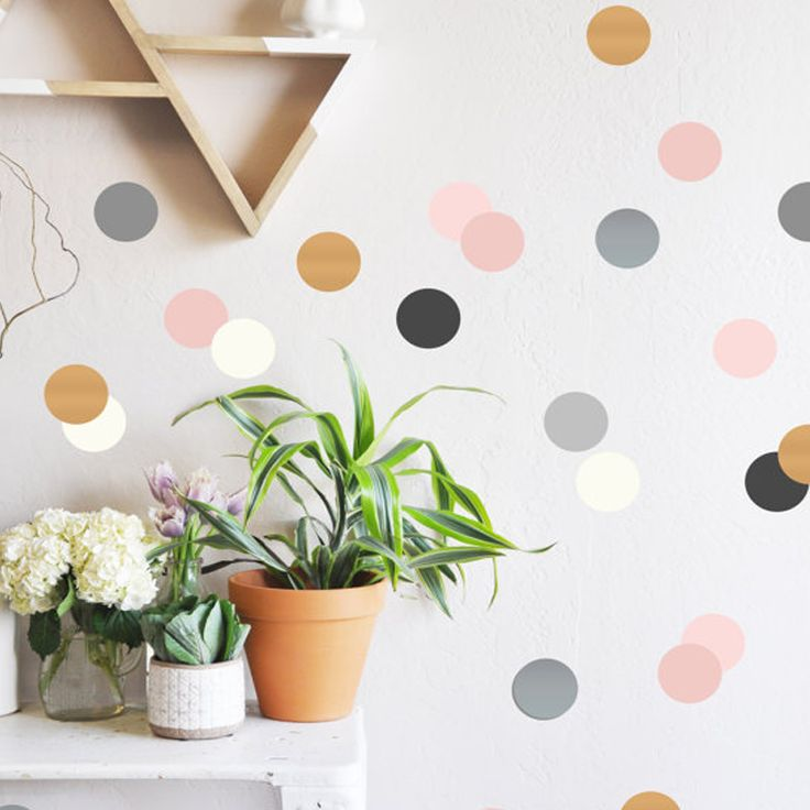 Project Nursery Confetti Dot decals,  $50 , 80 piece set