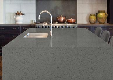 Hanstone Sterling Grey   Quartz Countertop
