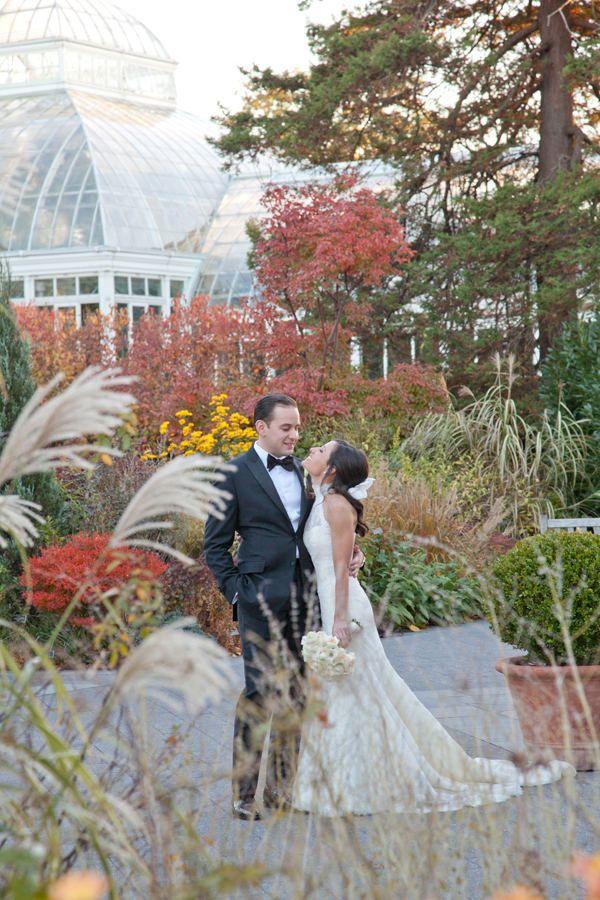wedding ceremony new york city%0A New York Botanical Garden Wedding from Raina Dawn   Carrie Rodman    Gardens  Nyc and The o u    jays