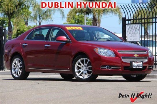 Sedan, 2009 Chevrolet Malibu LTZ V6 with 4 Door in Dublin, CA (94568)