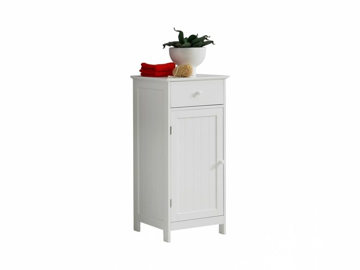 STOCKSUND Skåp 40 Låg Vit i gruppen Inomhus / Badrum / Badrumsmöbler hos Furniturebox (100-85-99120)