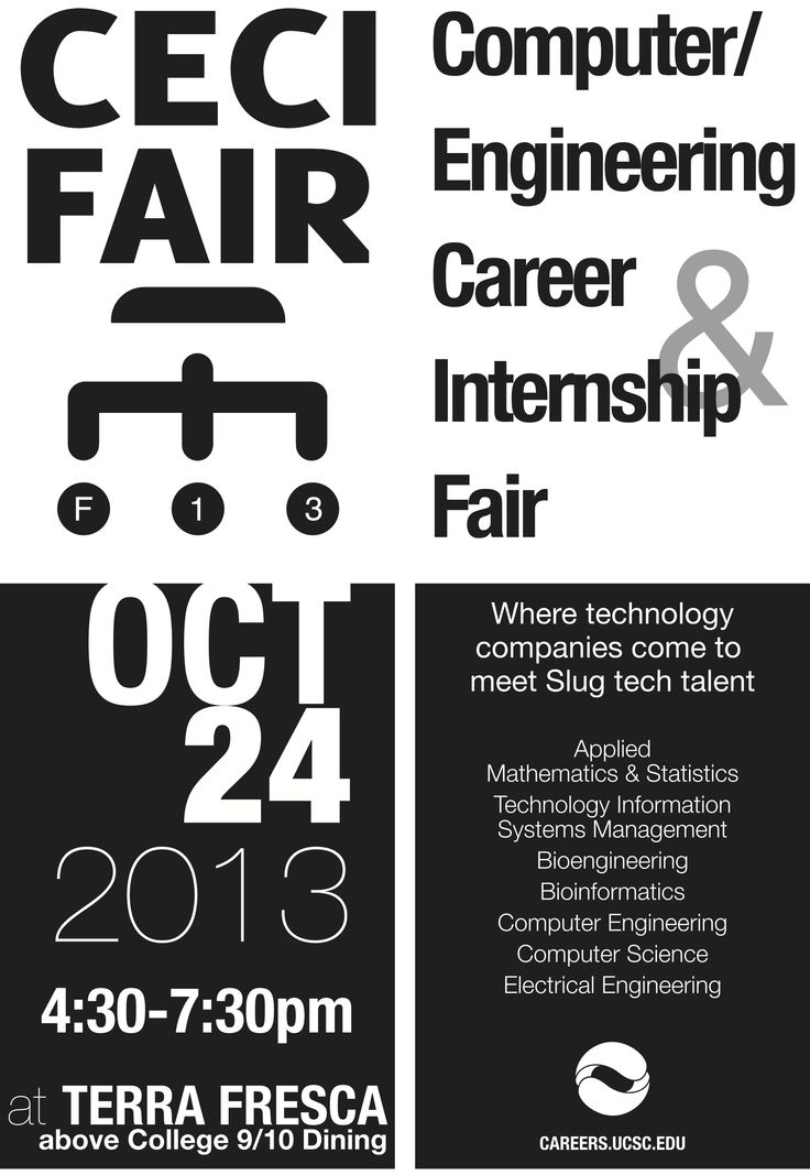 Best Event Flyers For Career Center Workshops And Fairs Images