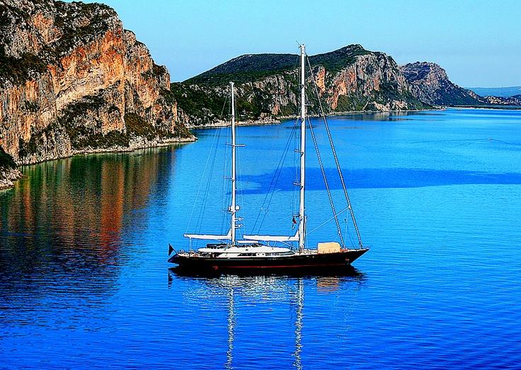 "the island ""Sfakteria"""