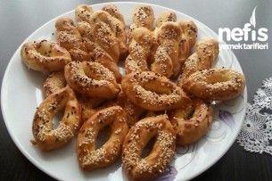Pastane Usulü Tuzlu Kurabiye Yapımı