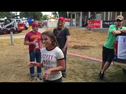 Tara Thompson & Lucas Hoge World Record Attempt at Stampede