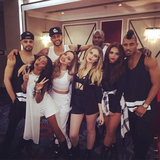 Little Mix via Wolfgang Mwanje's Instagram