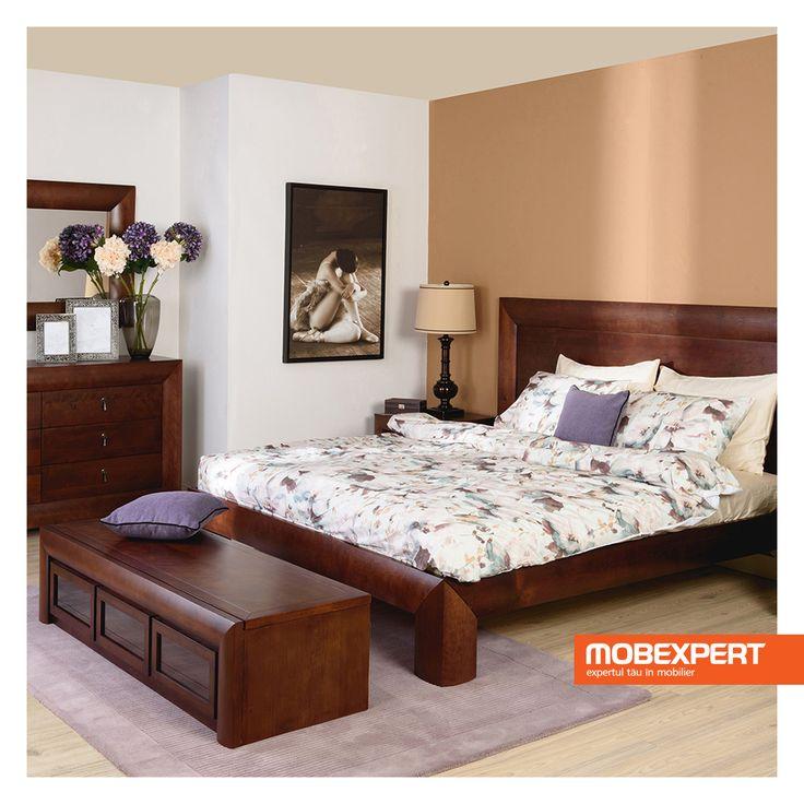 Colectia pentru dormitor Luvru reinventeaza stiul clasic si-l pune la loc de cinste, in casa ta. Piesele de mobilier componente se scalda in culori calde, masculine, texturi fine si forme armonioase.