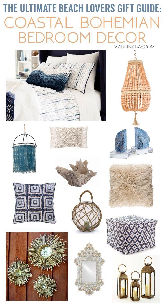Ultimate Beach Lovers Gift Guide Coastal Bohemian Bedroom