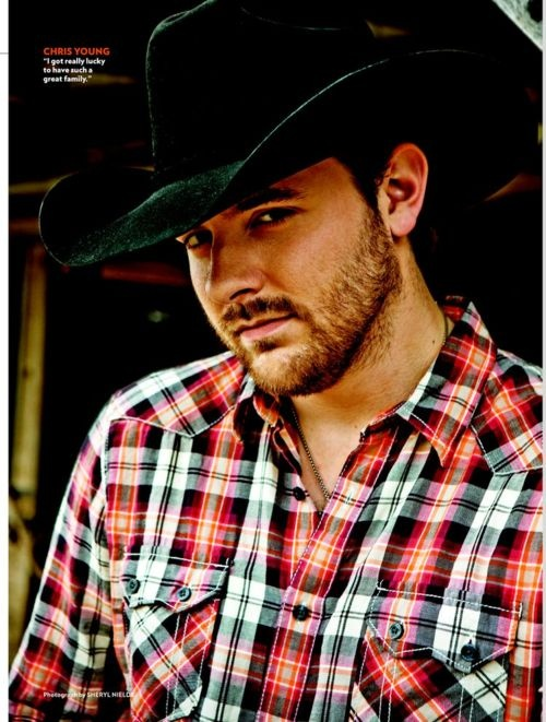 Chris Young- one 0f my favorite country singers & he's not bad on the eyes lol