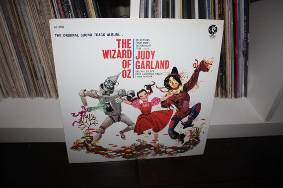 The Wizard of Oz Original Motion Picture Soundtrack Vinyl