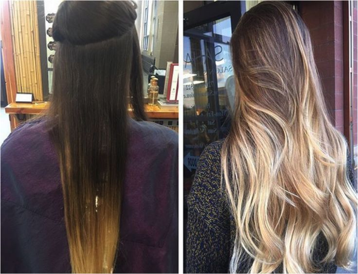 Our friends at Sahair Salon love using L'ANZA  products to create bold baylage ombre looks!