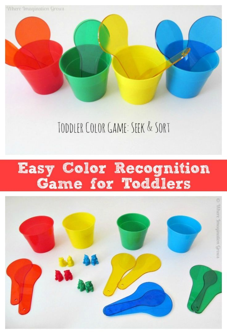 Seek & Sort! A Color Recognition Game for Toddlers | 3-6 year olds ...