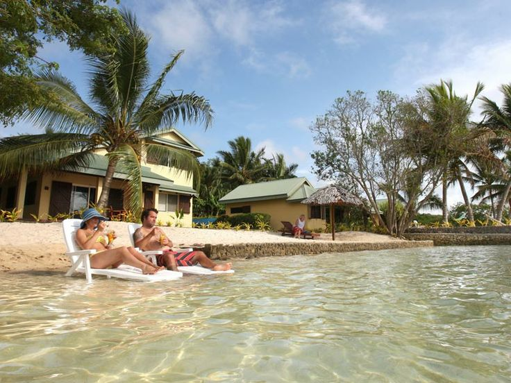 The perfect way to spend an afternoon at Poppy's on the Lagoon Resort, Vanuatu  www.islandescapes.com.au