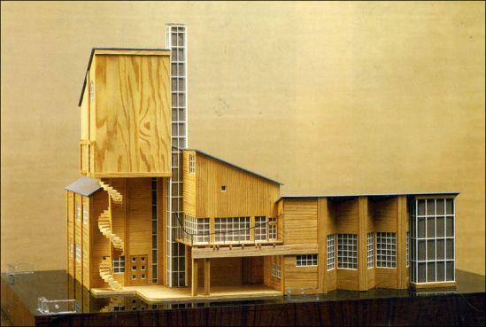 """Павильон """"Махорка"""" на Всероссийской сельскохозяйственной и кустарно-промышленной выставке 1923 года. - Константин Мельников. Архитектор"""