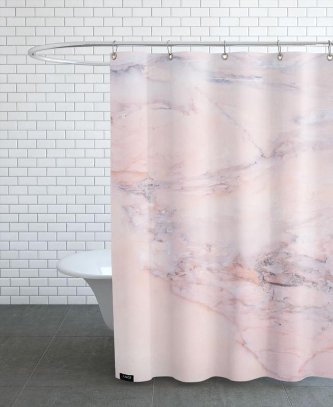 Blush Marble Shower Curtain Marble Showers Shower Curtain Curtains