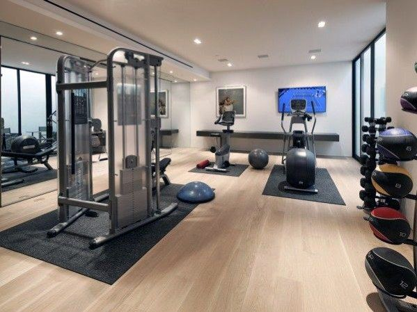 Top 40 Best Home Gym Floor Ideas Fitness Room Flooring Designs Home Gym Flooring Gym Room At Home Luxury Home Gym