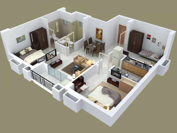 Cool 17 Best Images About House Apartment Models And Plans On Pinterest Largest Home Design Picture Inspirations Pitcheantrous