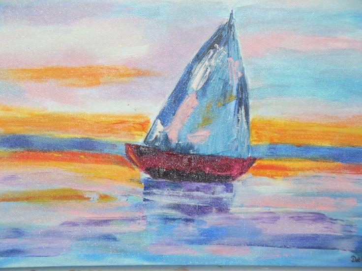 Ship a sailing