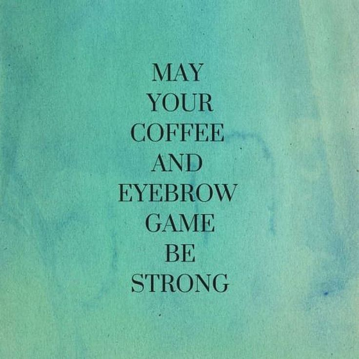 Let your brows be strong and bold like your coffee. Need help with your brows? Call 585-444-EYES for a brow shaping appointment! #Eyebrows #EnvisionROC