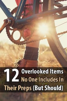 There are certain items that usually get left out of survival supply lists. Consequently, preppers tend to overlook them.