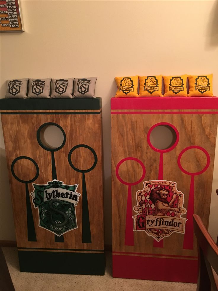 Harry Potter Cornhole Board set.