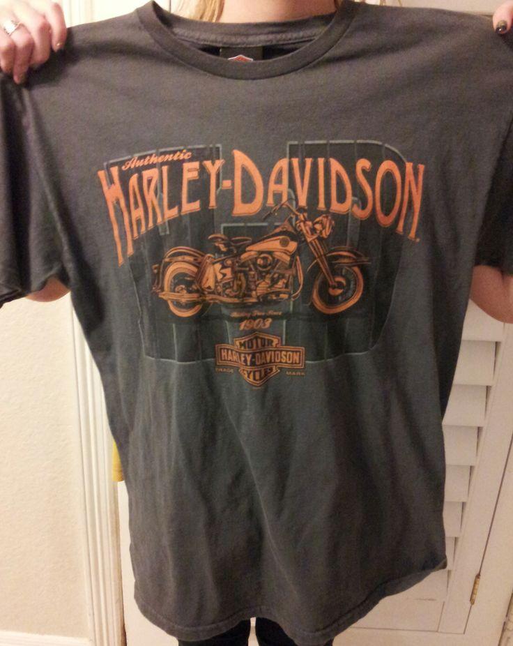 Authentic Stubbs Harley Davidson Houston Texas  T Shirt   Size Medium.................MAKE OFFER
