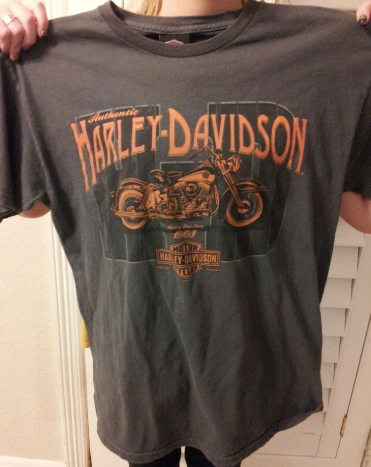 Authentic Stubbs Harley Davidson Houston Texas  T Shirt   Size Medium.................MAKE OFFER