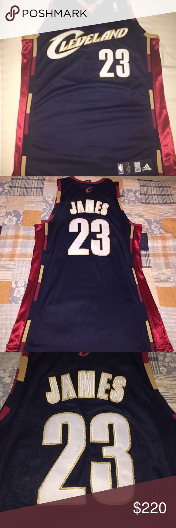 LeBron James ORIGINAL CAVS JERSEY This an original LeBron James Cleveland Caveliers jersey. It's in tip top shape!!!! It's never been worn. It's frame material. OPEN TO REASONABLE OFFERS‼️ Adidas Other