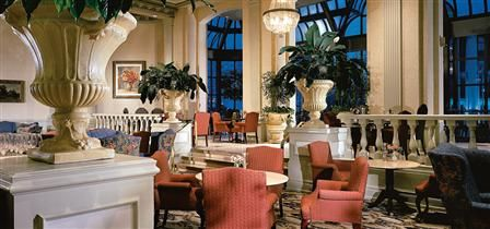 """Zoé's Lounge in the Fairmont Chateau Laurier (Ottawa, ON) """"Sip a crisp Ontario white wine in a room full of history, a stone's throw from Parliament Hill."""""""