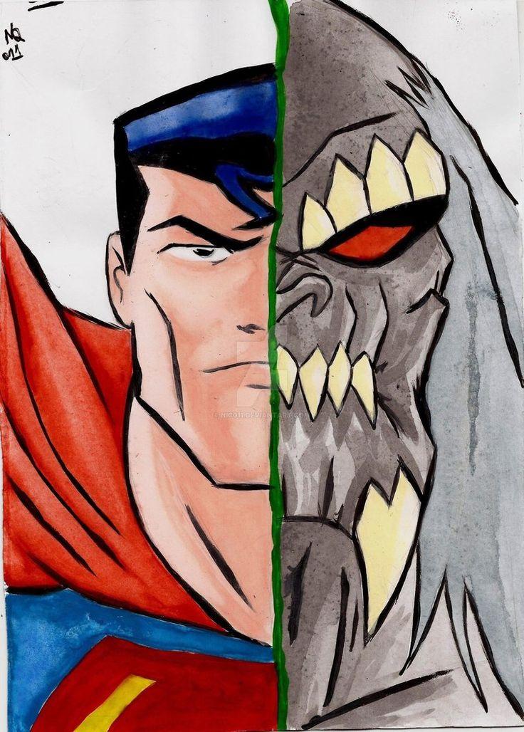 Superman/Doomsday by nic011.deviantart.com on @DeviantArt
