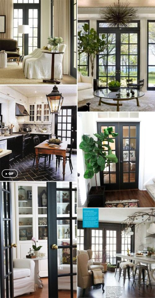 17 best ideas about black french doors on pinterest for Black french doors exterior
