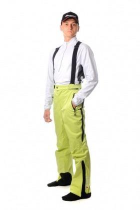Белые горнолыжные мужские брюки