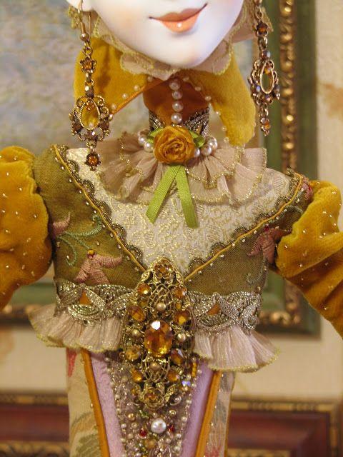 Кукольная мастерская ANNADAN: Работа почти готова, осталось сделать головной убор.