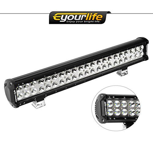 Eyourlife 20 inch Light Bar 12v Light Bar Truck Light Bar Off Road Bar Light Led 126W 4wd SUV UTE ATV UTV. Eyourlife 20 inch Light Bar 12v Light Bar Truck Light Bar Off Road Bar Light Led 126W 4wd SUV UTE ATV UTV. Rating  4.2/5 stars,  446 customer reviews