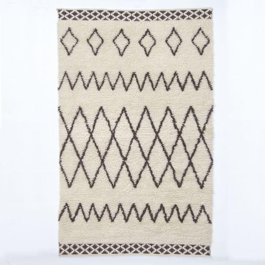 Kasbah Wool Rug - Ivory   West Elm 8x10 $899