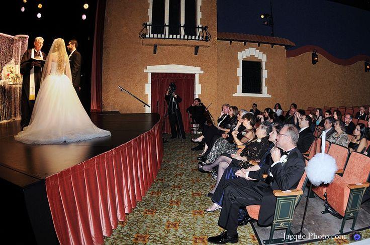 movie theatre wedding