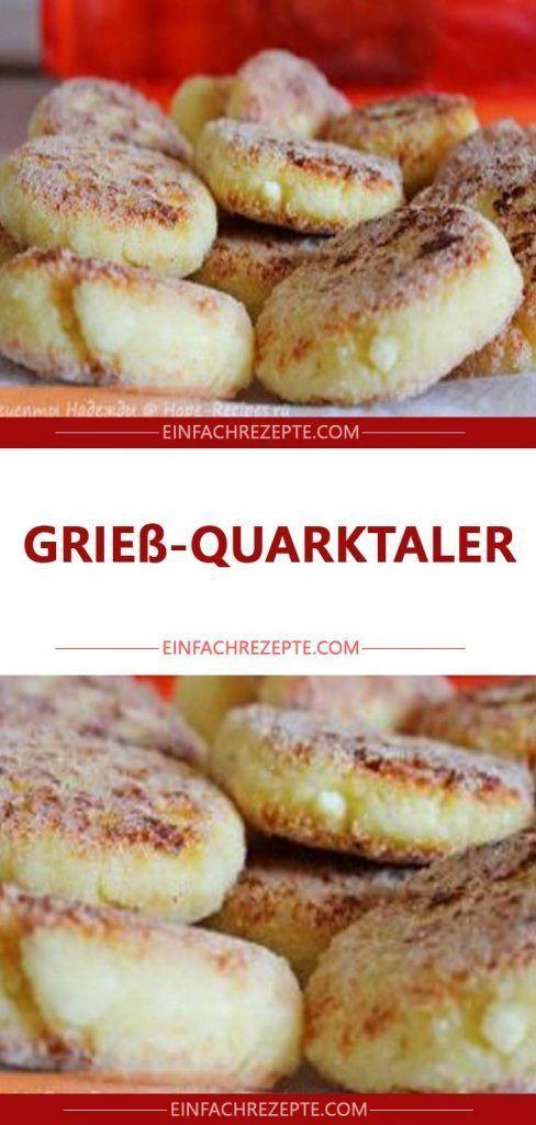 Grieß-Quarktaler 😍 😍 😍