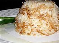 Receita de Arroz com Aletria o delicioso arroz árabe com macarrão cabelo de anjo.