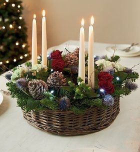 Wreath Ring-this would be great for our advent wreath