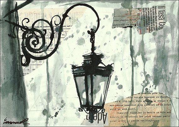 Dibujos En Libretas Ii: Print Art From Original Ink Drawing Autographed By Rcolo