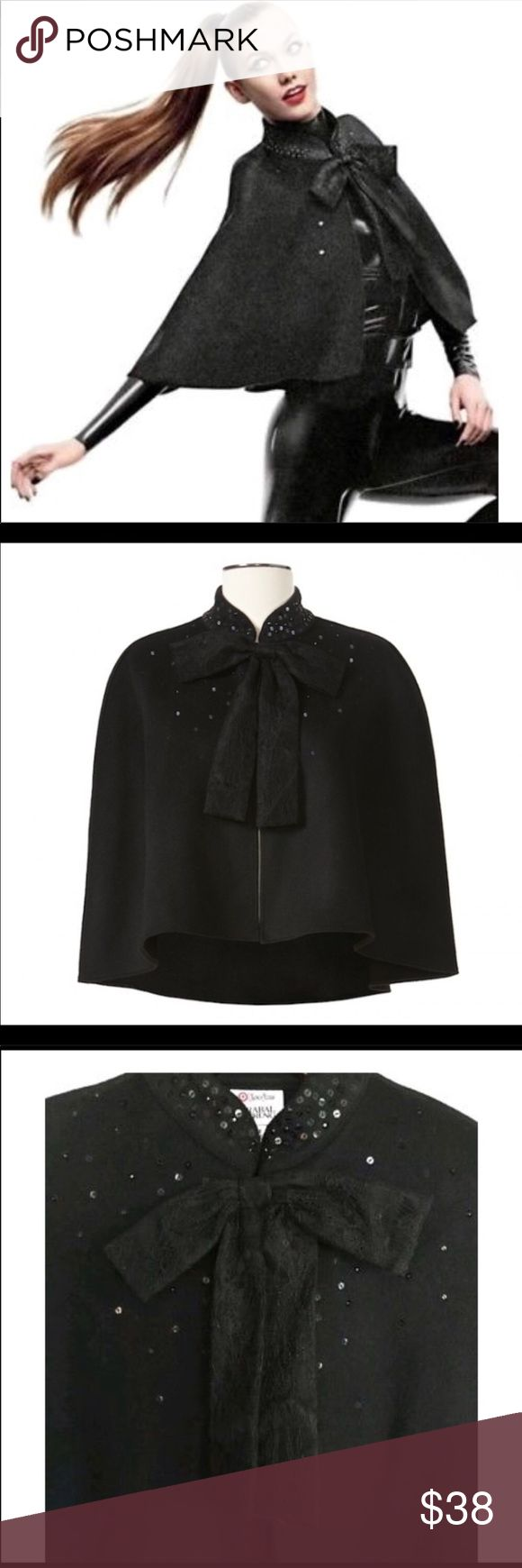 👗 Sale!!!!!!    Neiman Marcus Blake Cape This cape is high end fashion and can be dressed up or down! It can be paired with jeans or a fabulous dress! The options are endless! One Size Neiman Marcus Jackets & Coats Capes