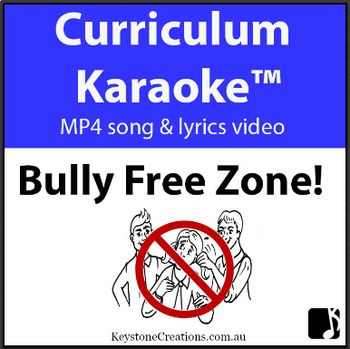 October is #NationalBullyingPreventionMonth. 'Bully-Free Zone!' whole school, #positivebehaviours #song is discounted until the end of the Month (October): DETAILS & DOWNLOAD: https://www.teacherspayteachers.com/Product/BULLY-FREE-ZONE-Curriculum-Karaoke-MP4-Song-Lyrics-for-Whiteboard-3209844