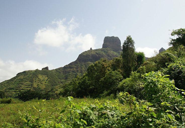 Summer landscape, São Jorge dos Órgãos,, Cape Verde