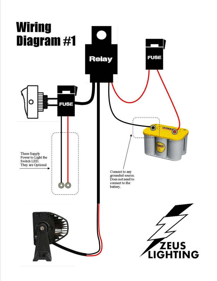 7 Pin Wiring Diagram 34265 besides HID Driving Light Wiring Diagram together with Wiring Tips Using Relays moreover 1949 Buick Electrical also 990741. on off road led light bar wiring diagram basic